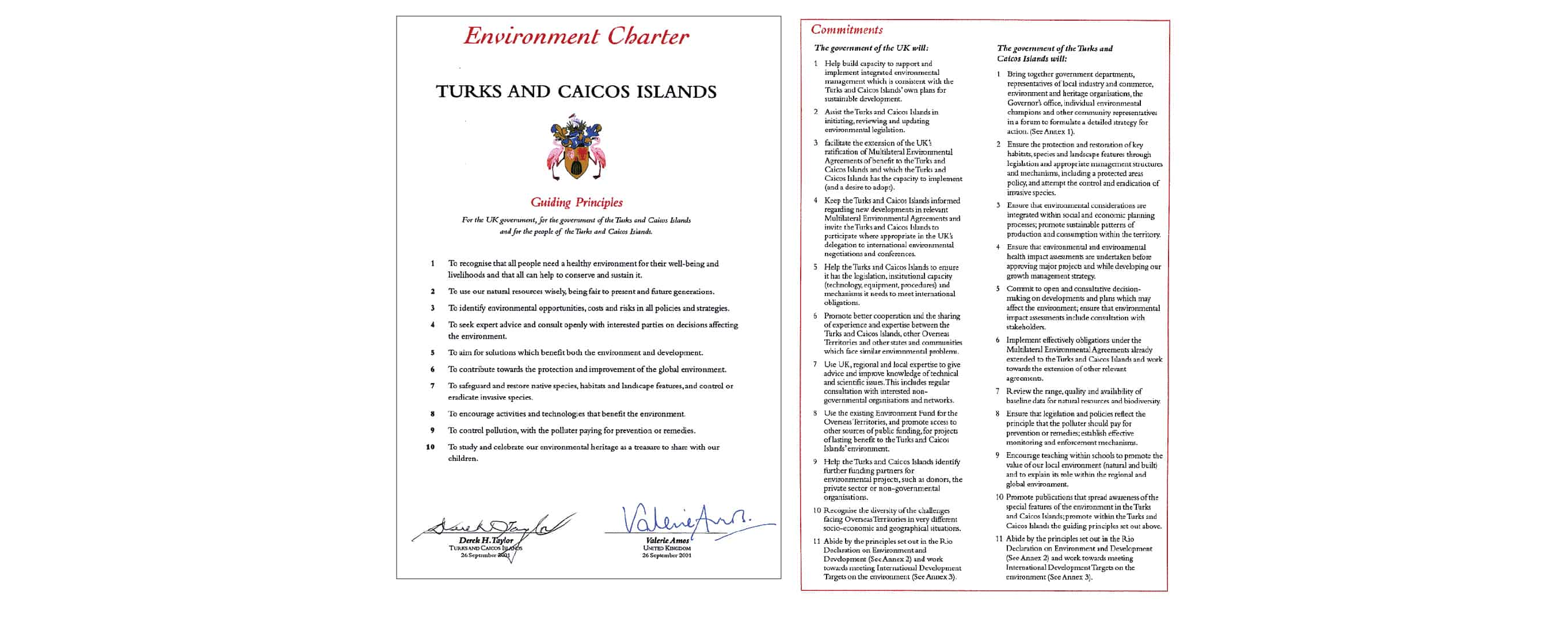 Example of Environment Charter
