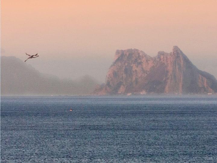 Views around Gibraltar; Copyright: Prof John Cortes