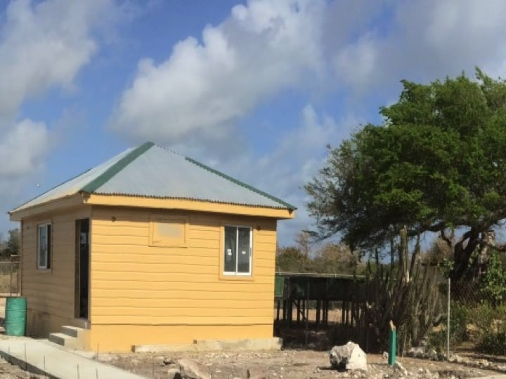 Anegada iguana rehabilitation facility adds a visitors centre; Copyright: NPTVI