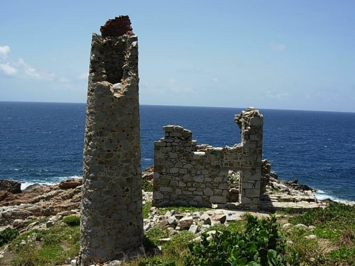Copper Mine Point, within the Virgin Gorda protected area; Copyright: NPTVI