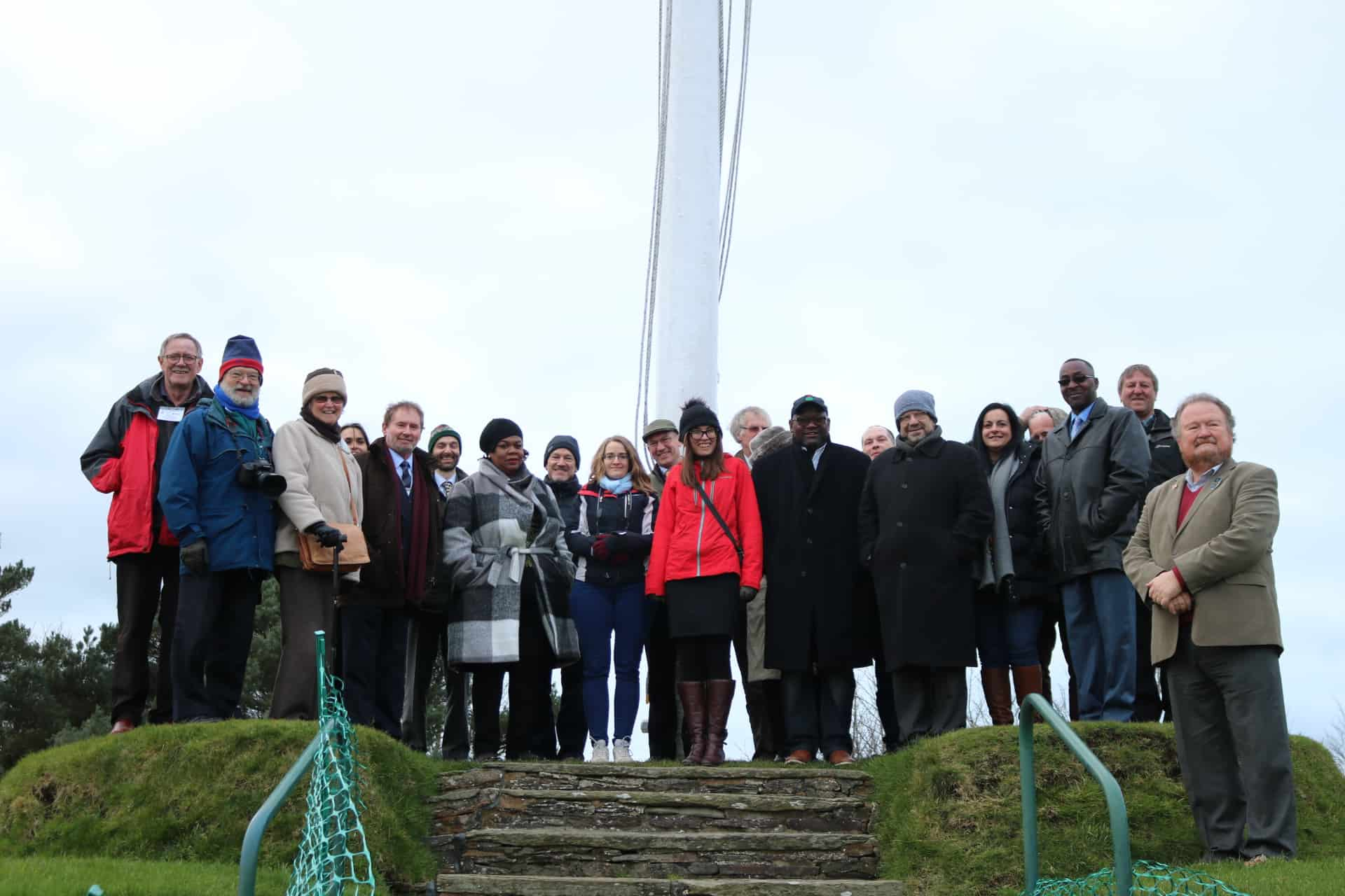The final half-day site-visits included: a visit to the historical site of Tynwald, over 100 years old. Tynwald is the oldest continuous Parliament in the world; Copyright: Isle of Man Government.