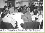 Participants at the 'Breath of Fresh Air' conference