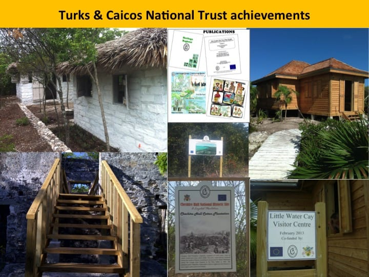 Some activities which took place in the Turks and Caicos Islands; Copyright: Turks and Caicos National Trust