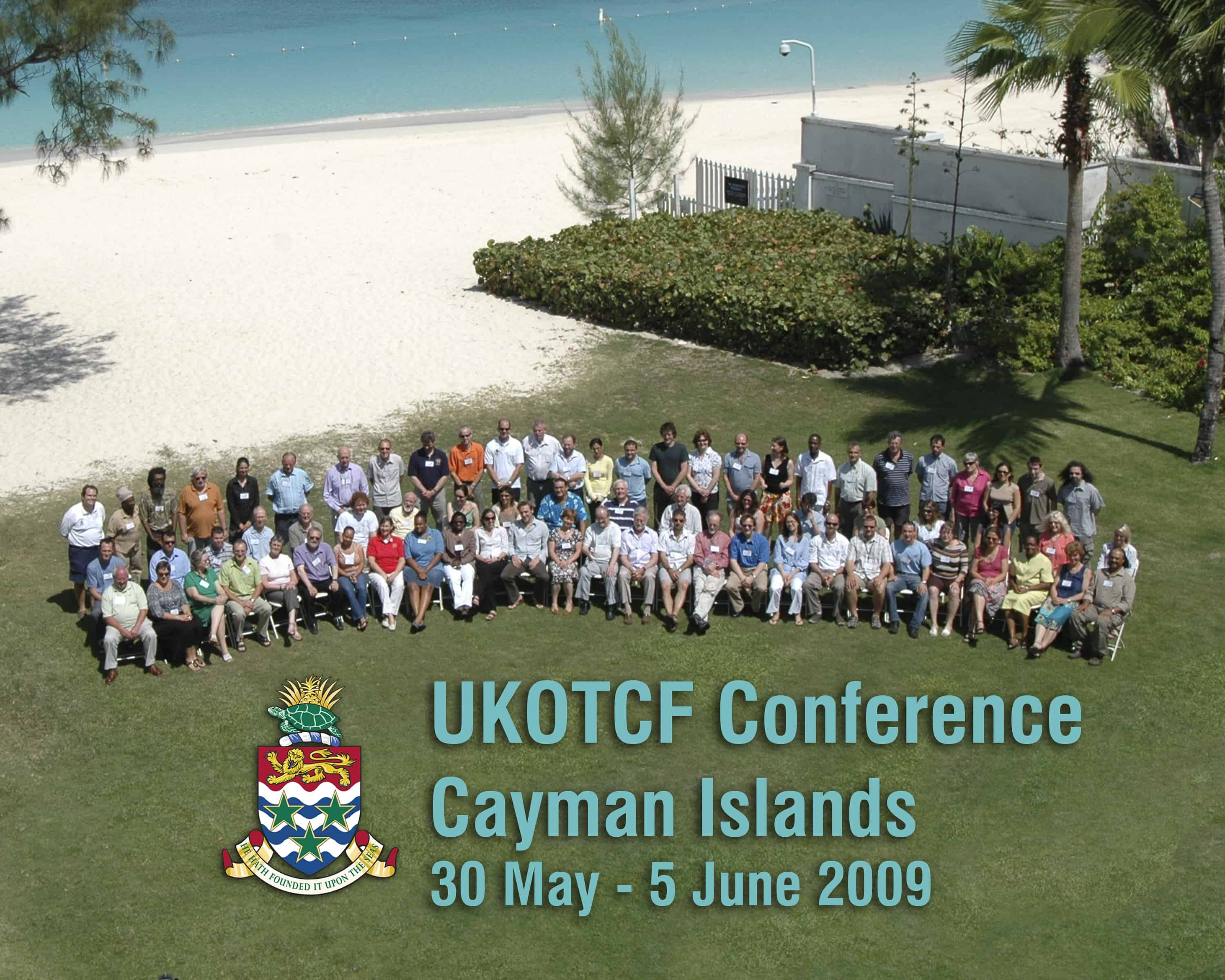 Conference participants. UKOTCF/Cayman Islands Government
