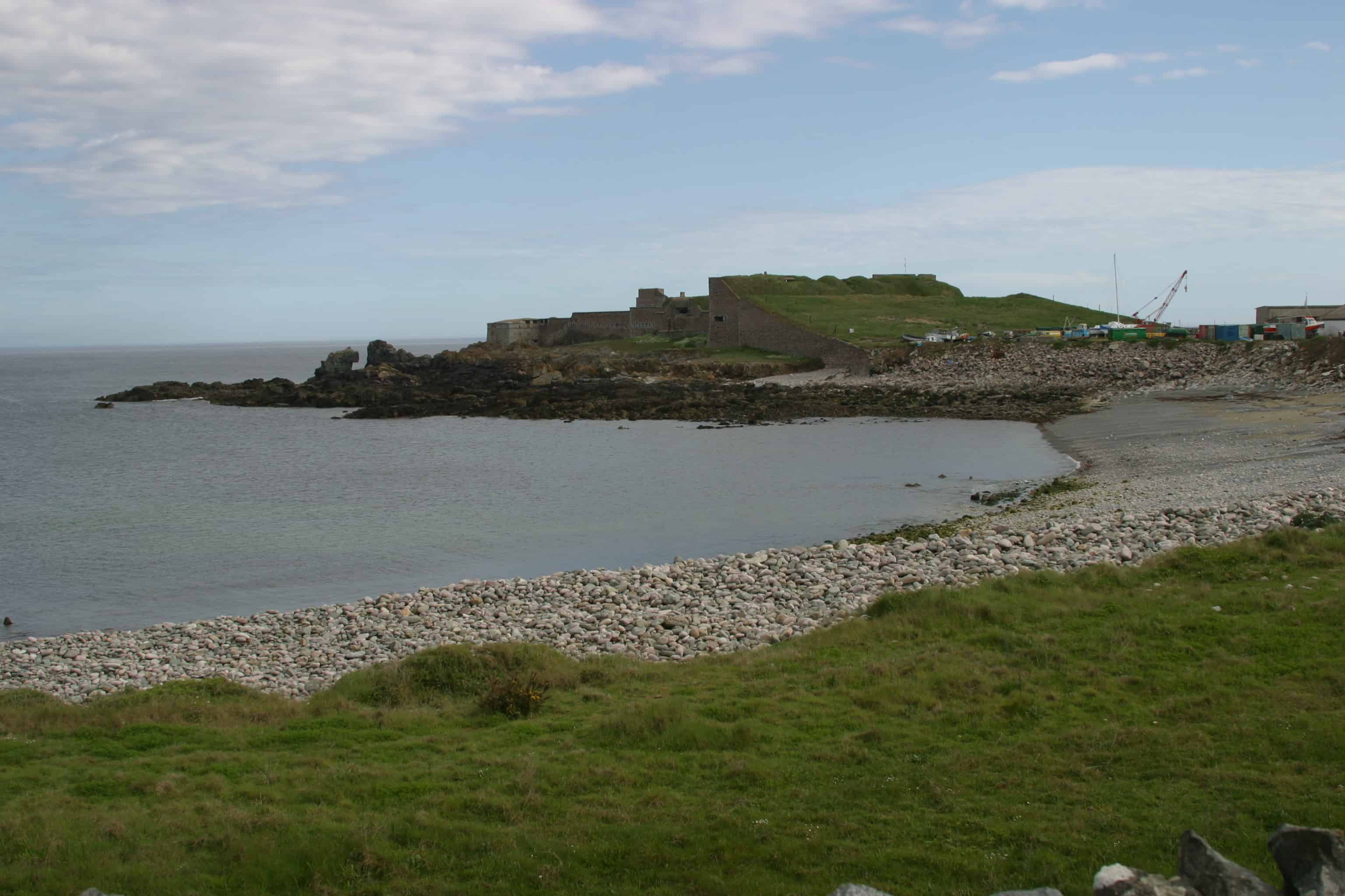 Alderney has been strategically important at least from Roman times to the Second World War, when it was occupied; Copyright: Dr Mike Pienkowski