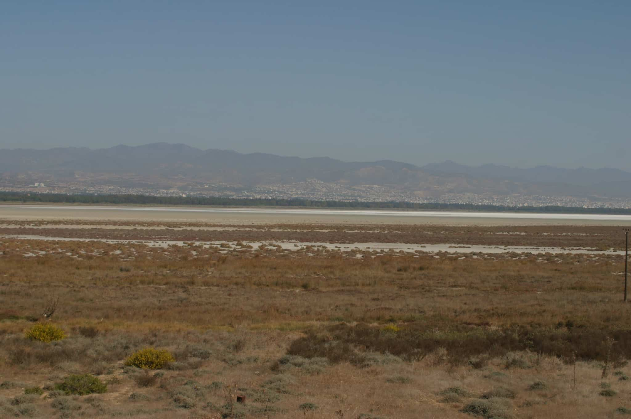 Salt Lake at Akrotiri Peninsula; Copyright: Dr Mike Pienkowski