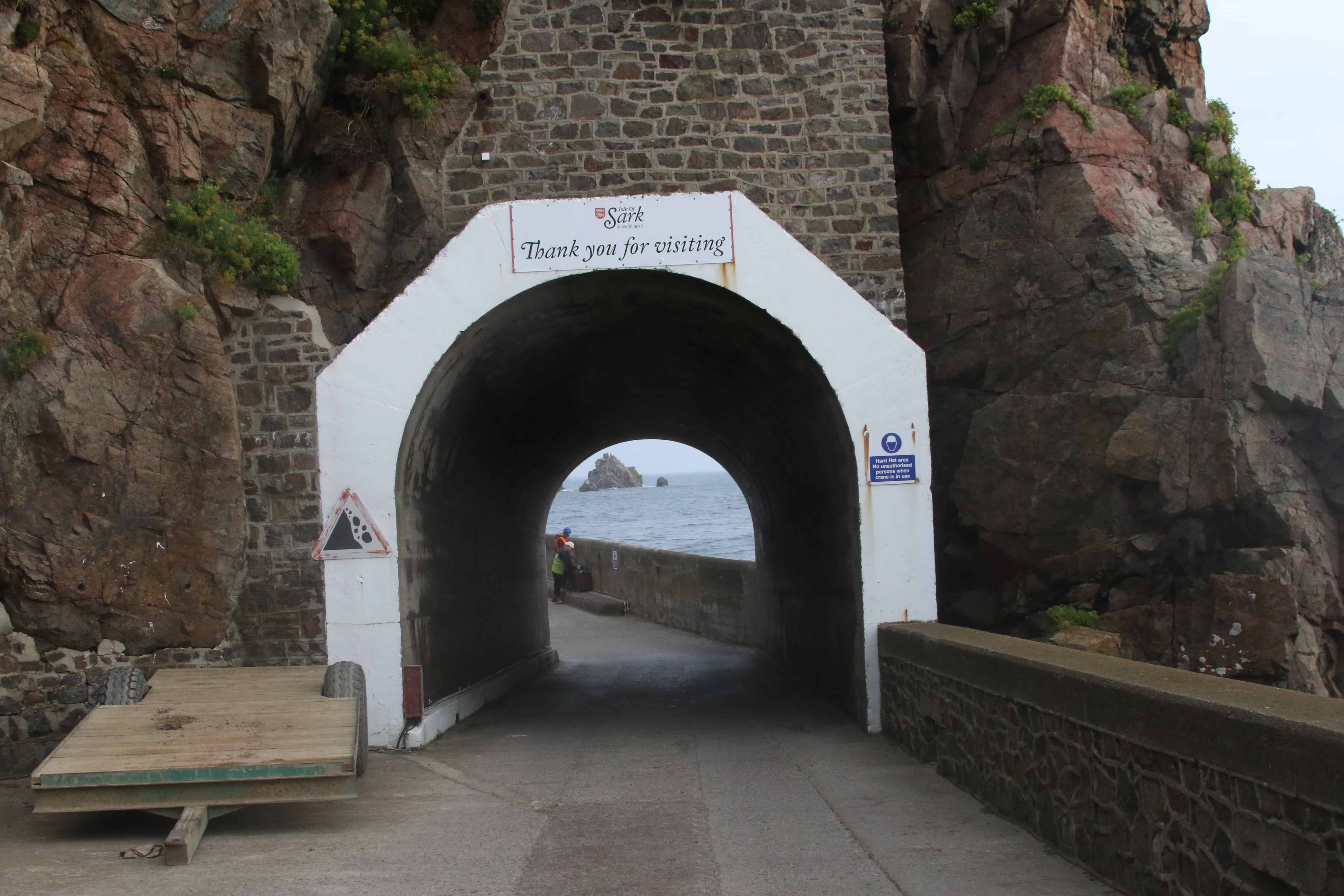 Tunnel to the harbour; Copyright: Dr Mike Pienkowski