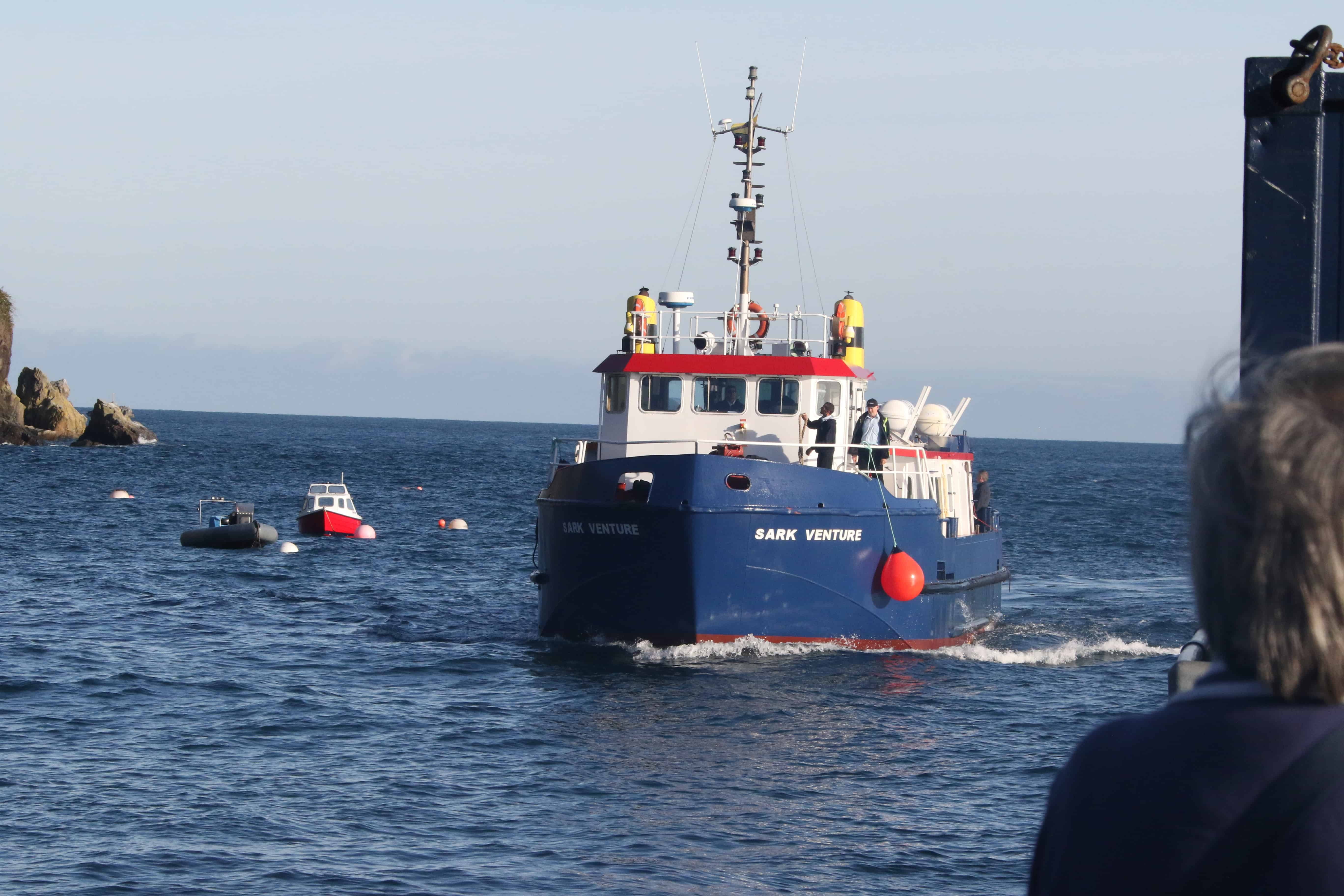 The passenger ferry to Guernsey. Copyright: Dr Mike Pienkowski