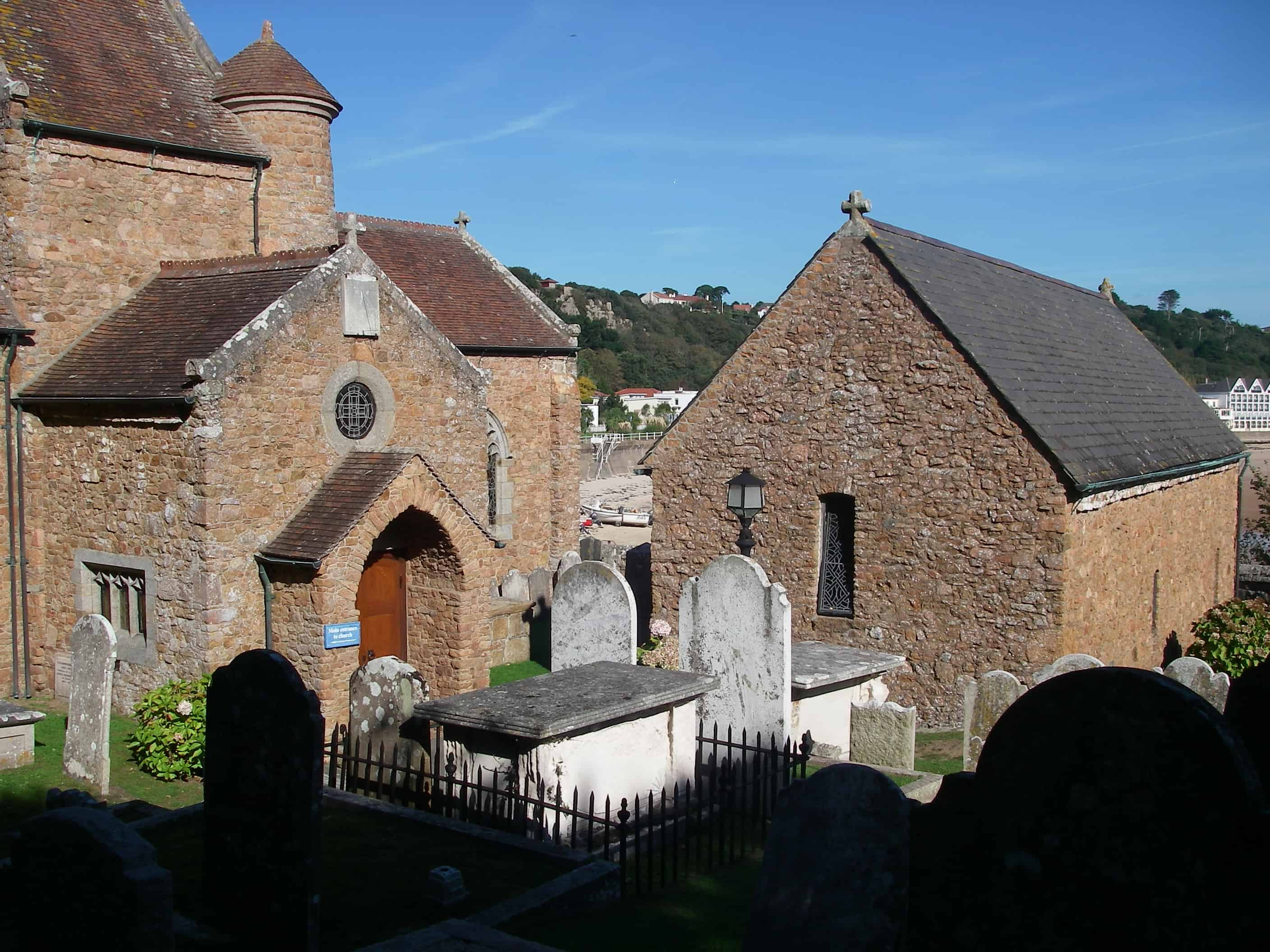 Some of the old churched found on Jersey; Copyright: Dr Mike Pienkowski