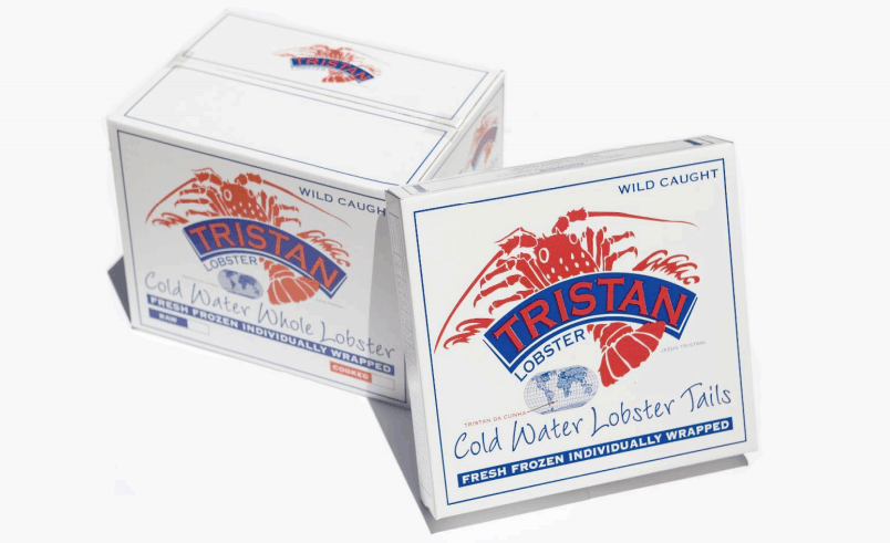 Tristan rock lobster is shipped all over the world and is considered a high-end delicacy.