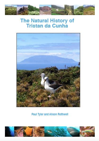 Front cover Tristan da Cunha book